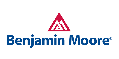 the benjamin moore logo and triangle symbol