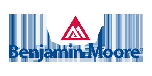the benjamin moore logo and triangle symbol