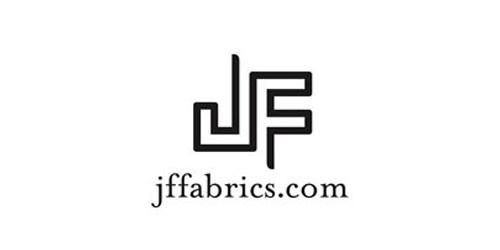 the jf fabrics logo