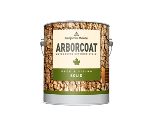 a benjamin moore paint can for arborcoat