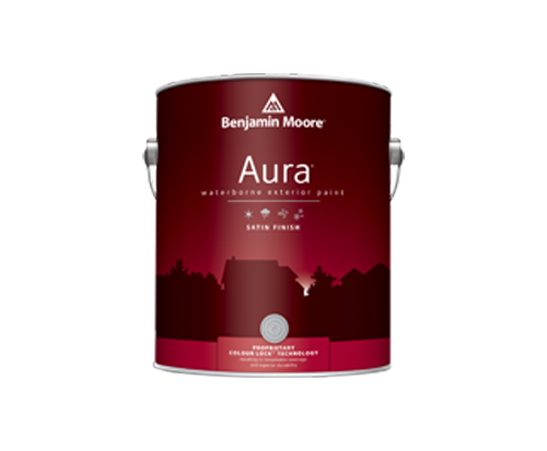 a benjamin moore paint can for aura exterior