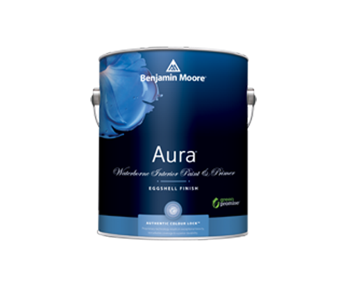 a benjamin moore paint can for aura