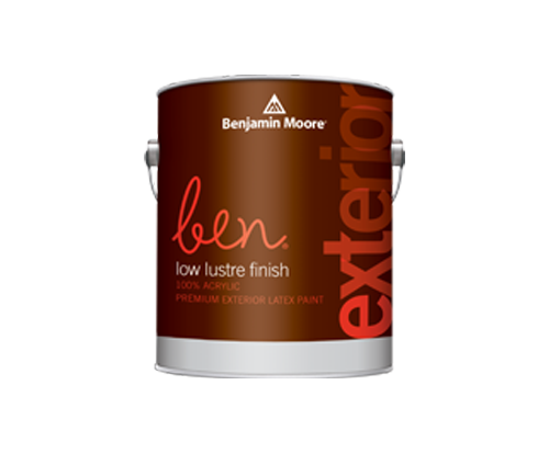 a benjamin moore paint can for ben exterior