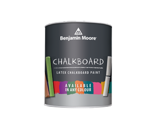 a benjamin moore paint can for chalkboard