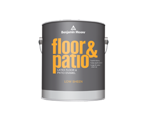 a benjamin moore paint can for floor and patio