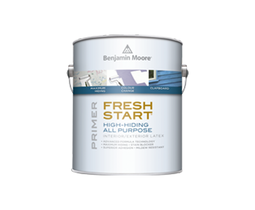 a benjamin moore paint can for fresh start