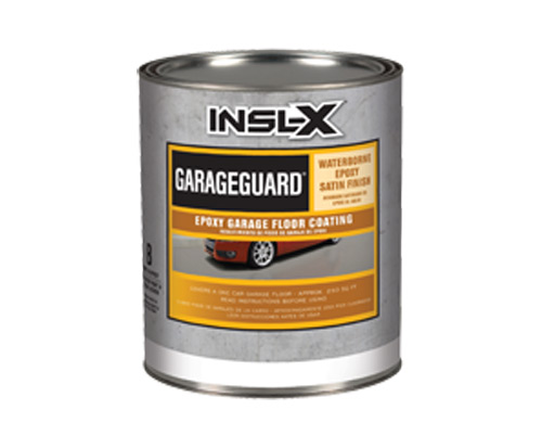 a insl-x paint can for garage guard