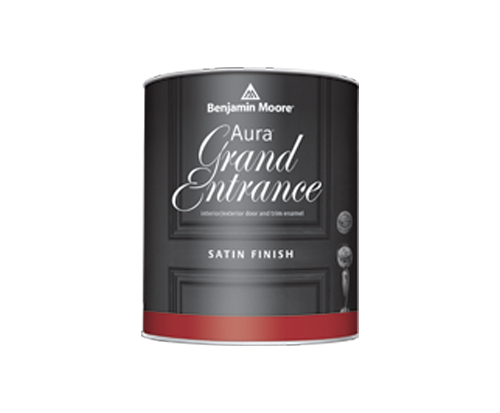 a benjamin moore paint can for grand entrance